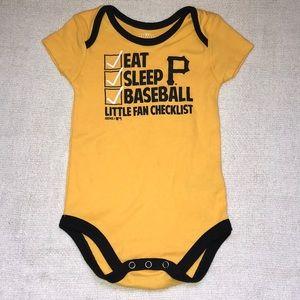 Genuine Merchandise Pittsburgh Pirates onesie